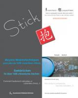 STICK – Eselsbrücken für 1600 chinesische Zeichen / Moyens mnémotechniques pour